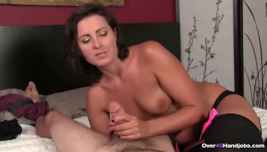 Mature wife blows stranger