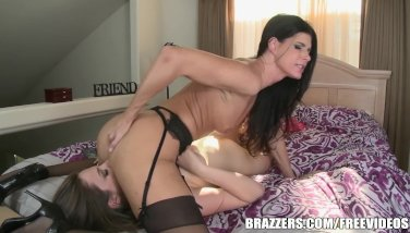 Stepmom and teen have some fun  - Brazzers
