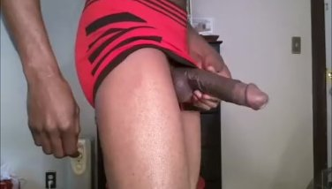 Throbbing Dick And Cummimg In Underwear