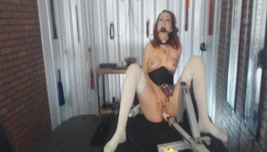 Mistress with Nipple Clamps and Ball Gags Abu