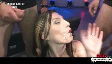 Sexy Bukkake Gangbang Sluts