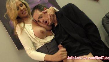 Julia ann milks stepson before his date