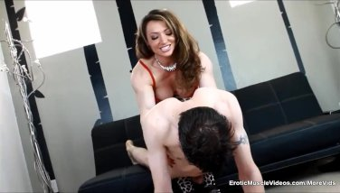 Nude hot redhead having sex