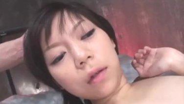 Minami asaka provides special treatment on two dicks 3