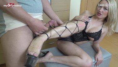 My Dirty Hobby - Lana-Giselle mit Fuessen gew