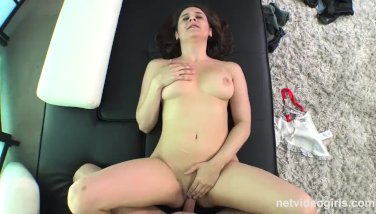 Full Tits and Great Ass on This First Timer From NetVideoGirls