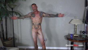 Inked Muscle Man JO