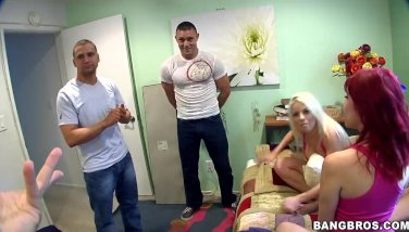 A 3 Girl Gangbang w/ Britney Amber, Angel Summers, and Sasha Sweet