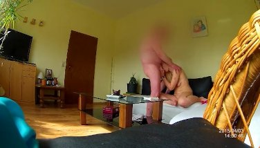 Ugly german 10 $ slut sandra with psoriasis skin and saggy tits - SPY CAM -