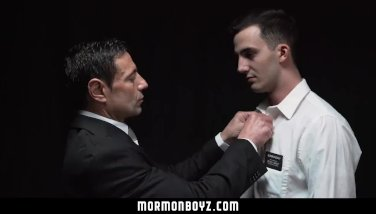 MormonBoyz-Mormon boy submits to domination and raw anal sex