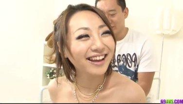 Wild group experience with amazing woman Yuu Shiraishi
