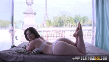 Amazing Mylene Johnson has Hardcore Public Sex in Paris