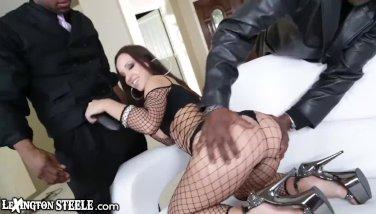Lex Steele DPs Jada Stevens with his Huge Cock Friend