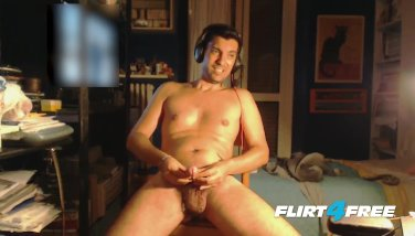 Louis Carr Likes Games Involving Hot Wax and His Cock
