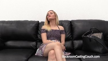 Petite Tiny Spinner Blonde Anal on Casting Couch