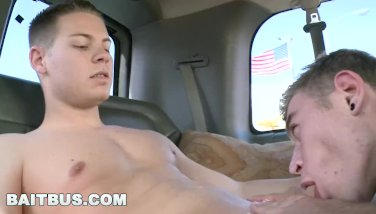 BAITBUS - Alexander Greene Wants Straight Bait Riley Bank's Big Dick!