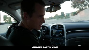 GingerPatch - Innocent Redhead Pounded By Big Cock