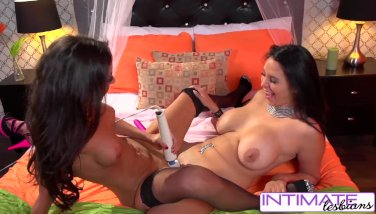 Intimate Lesbians - Missy Martinez and Trinity St. Claire fuck each other
