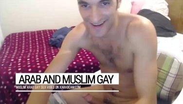 Tasting a cup of arab gay oriental cum. Bassel's dick neverending flow