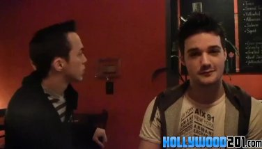 A night out with hot and horny twinks