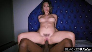 Blackedraw smoking swinger wife tries black cock 9