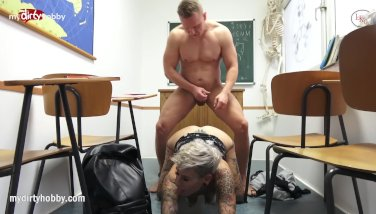 My Dirty Hobby - Quick fuck during detention