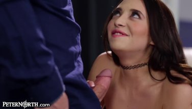 Big Tits Step-Daughter Cannot Control her Daddy Lust!