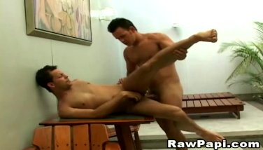 Hard Rough Anal Sex with Two Gay Latino