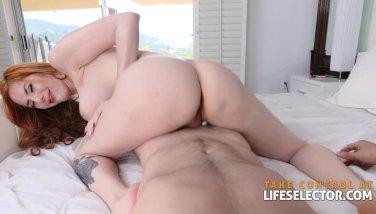 Lauren Phillips - Cock Hungry RedHead MILF (POV)