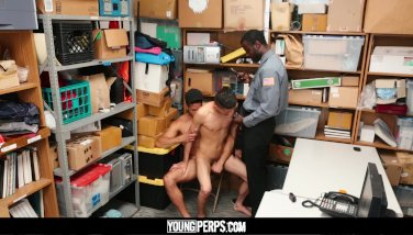 YoungPerps - Hot Threesome With Guards