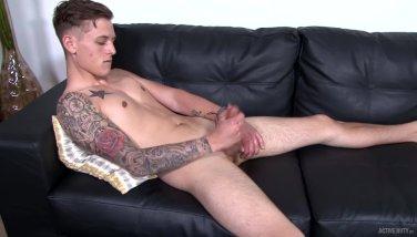 Straight Solo Teen Twink Military Brat Jerks His Big Dick