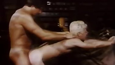 Peter Waves & Mike DeMarco in HARD MEN AT WORK (1983)