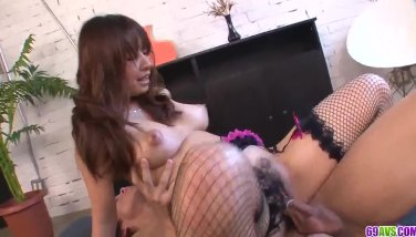Busty Buruma Aoi sure loves the dick in her tight  - More at 69avs com