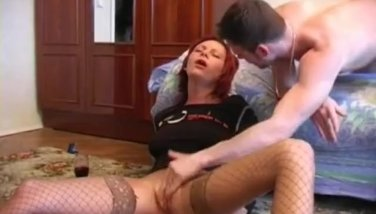 Drunk german redhead gets fucked till she passes out