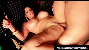 Horny Latina Angelina Castro Fucks Black Cock In Adult Store