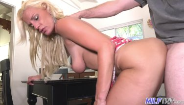 MILF Trip - Blonde MILF Charlie Daniels get filled with cock - Part 1