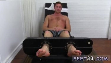 Huge gay men feet Connor Maguire Tickled