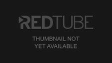 Teen redhead strips and rubs