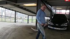Wetting Jeans In Parking