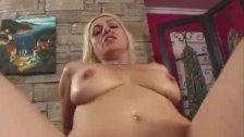Blonde MILF Raquel Sieb gets hard fucking