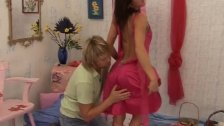 Crossdresser blowjob Monica gets a