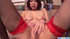 Erika Nishino likes to pose nasty and fuck li