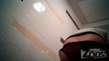 Peeping girl in the toilet 1851