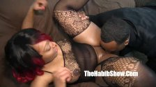 thickred carmel skinned freak gets banged by