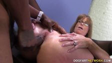 Sexy cougar Darla Crane gets anal from big bl