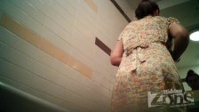 Peeping girl in the toilet 1985
