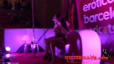 Silvia Rubi y Chiara Diletto BDSM show en SEB