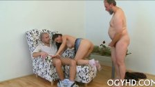 Young hole rammed by old rod