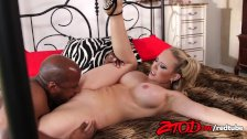 Kagney Linn Karter takes a huge black dick