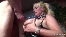 German Big Natural Tit MILF Seduce to Fuck